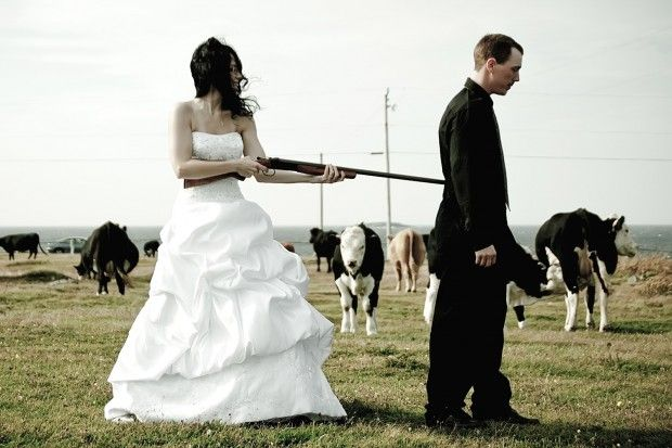 Shotgun Wedding Pictures Weddings A Ring Get Gun