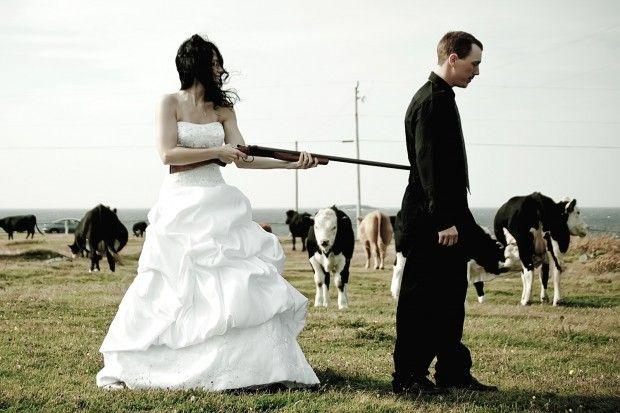 Image result for picture of shotgun wedding
