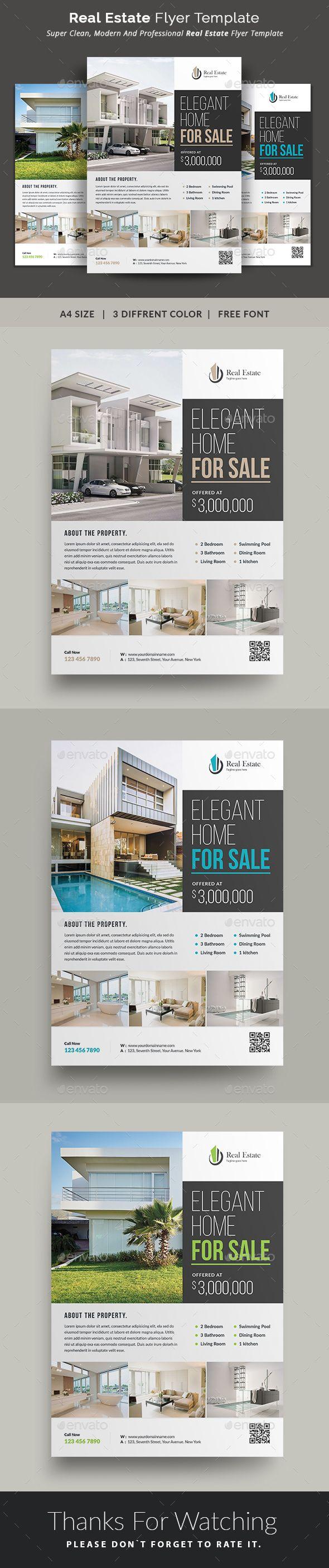 Real Estate Resume%0A Real Estate  Flyer  Commerce Flyers  This Real Estate Flyer Template is a  great
