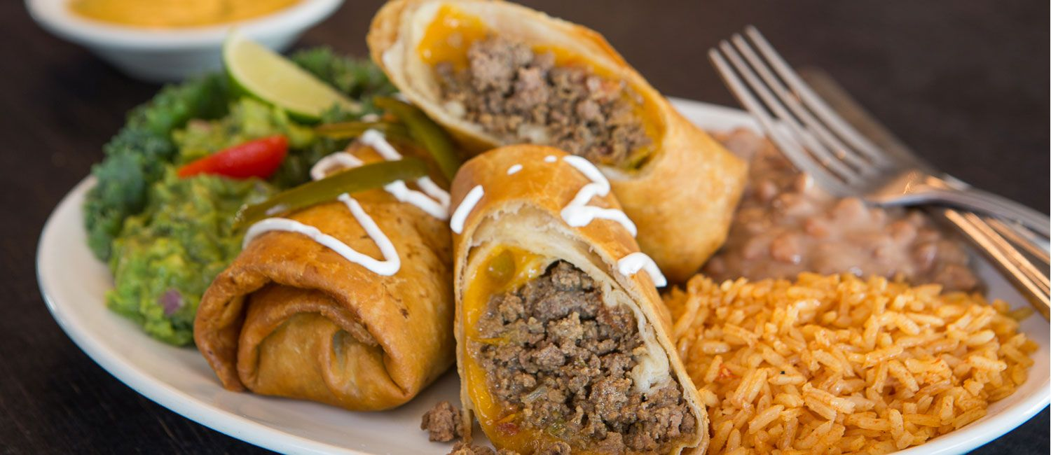 Enjoy your dinner on the patio food mexican food