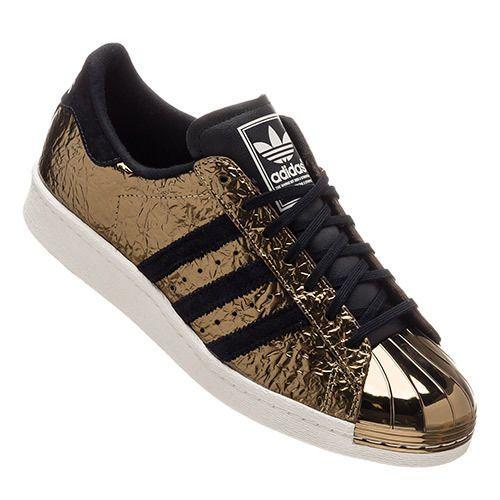 Adidas-Superstar-Gold-Metallic-Metal-Toe | Adidas superstar ...