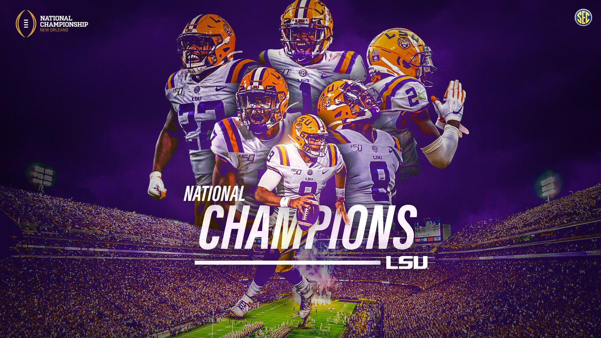 Southeastern Conference On Twitter In 2020 Southeastern Conference National Champions Lsu