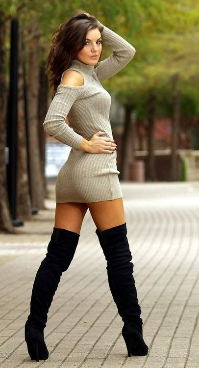 Sexy girls in high boots