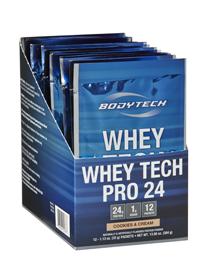 Bodytech Whey Tech Pro 24 Cookies & Cream, 12.0 Each , Packets #myvitabox