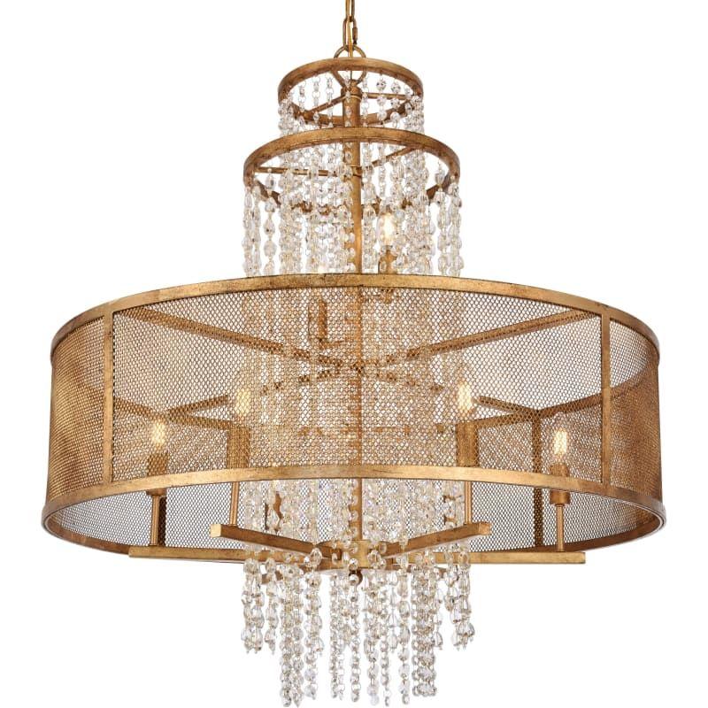 Elegant Lighting 1540d32 Legacy 8 Light 32 Wide Chandelier With