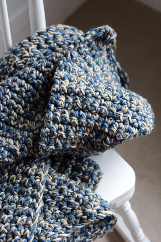 Aesthetic Nest Crochet: Easy Baby Afghan (Free Pattern) | Blankets ...