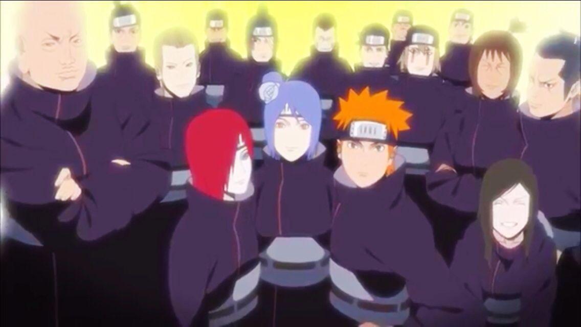 The original Akatsuki. Hate you Danzo!!!