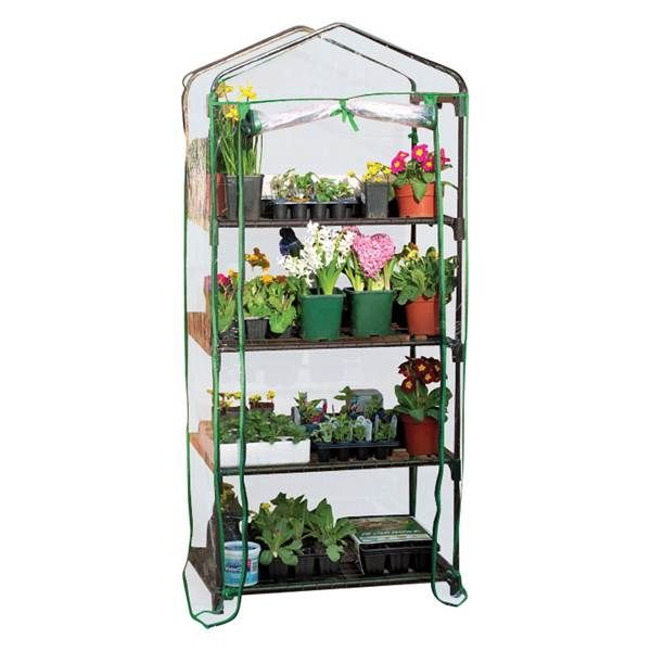 gardman indoor outdoor 4 tier mini greenhouse from blain s farm and rh pinterest com