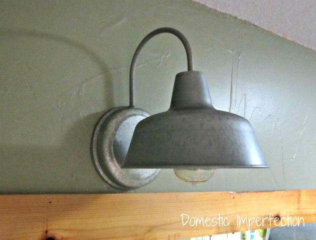 Portfolio Galvanized Steel Outdoor Wall Light. @Kathy Soffe Is This The  Kind Of Light