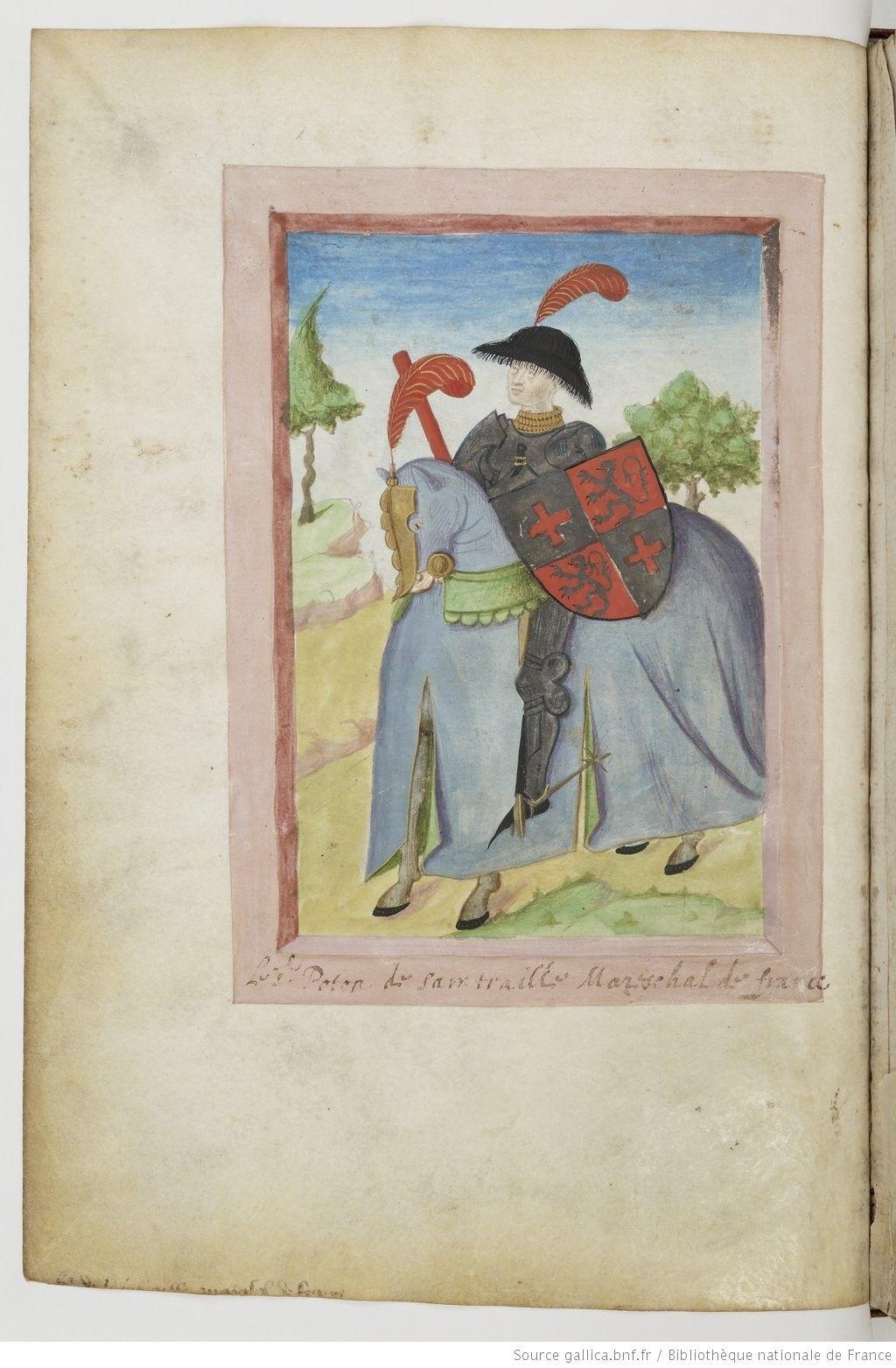 Armorial de GILLES LE BOUVIER, dit BERRY, héraut d'armes