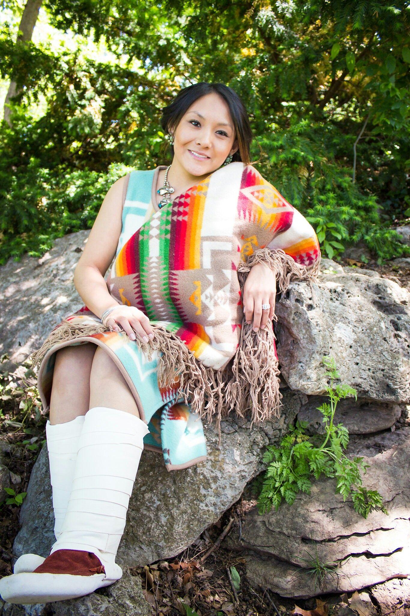 Pin Jennifer Peshlakai Navajo Pendleton Graduation