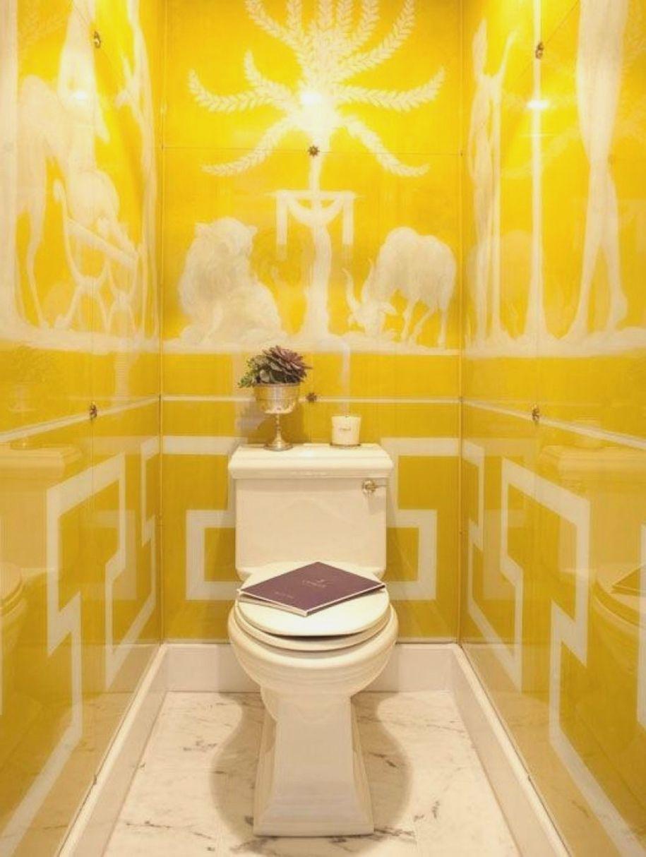 Yellow Bathroom Decorating Ideas Bsm farshout.com   Modern Home ...