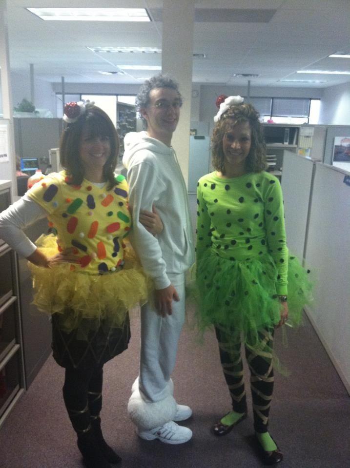 Ice cream come Halloween costume, homemade Halloween costume, group - cheap homemade halloween costume ideas