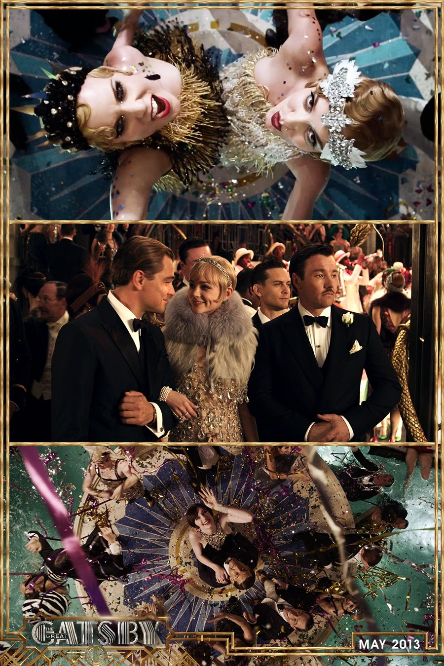 A little party never killed nobody. TheGreatGatsby
