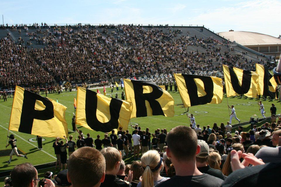 A view of Ross Ade from a fans perspective. Football