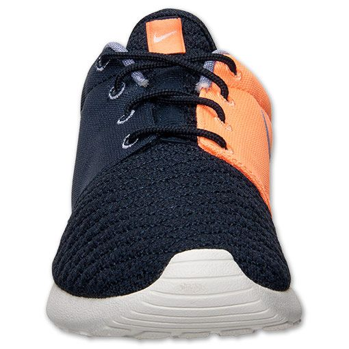 Nike Roshe Run Premium Dark Obsidian / Atomic Orange