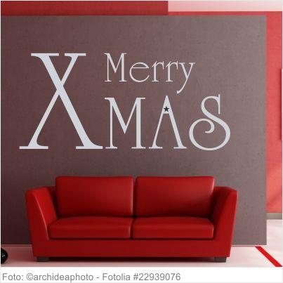 Frohe Weihnachten Serbisch.Wandtattoo Weihnachten Merry X Mas Wandtattoo Weihnachten