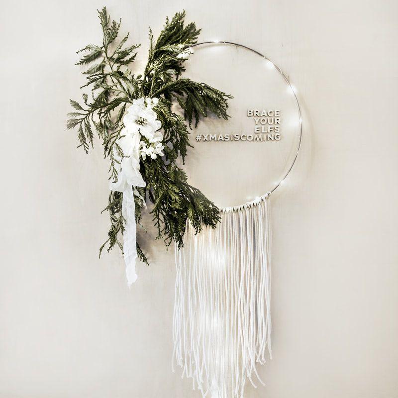 Photo of DIY Boho Macrame Christmas Wreath