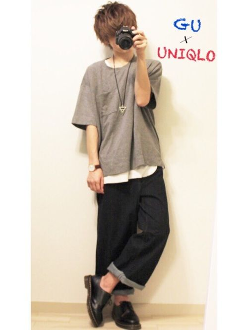 メンズ gu t シャツ 2020年UNIQLO U(ユニクロユー)のTシャツサイズ感って?ユニクロユーTシャツ徹底調査。レディース/メンズ版 UNISIZE(ユニサイズ)