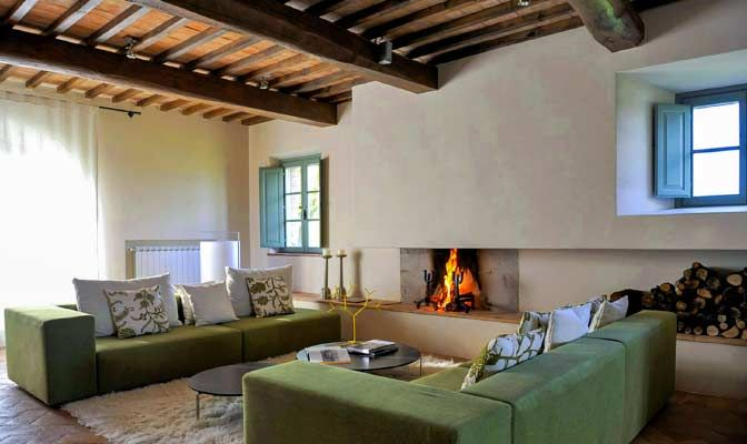 Architectural Holiday Homes Rentals Country House InteriorCountry