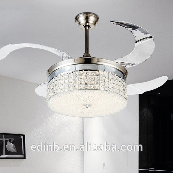 Crystal Ceiling Fan Invisible