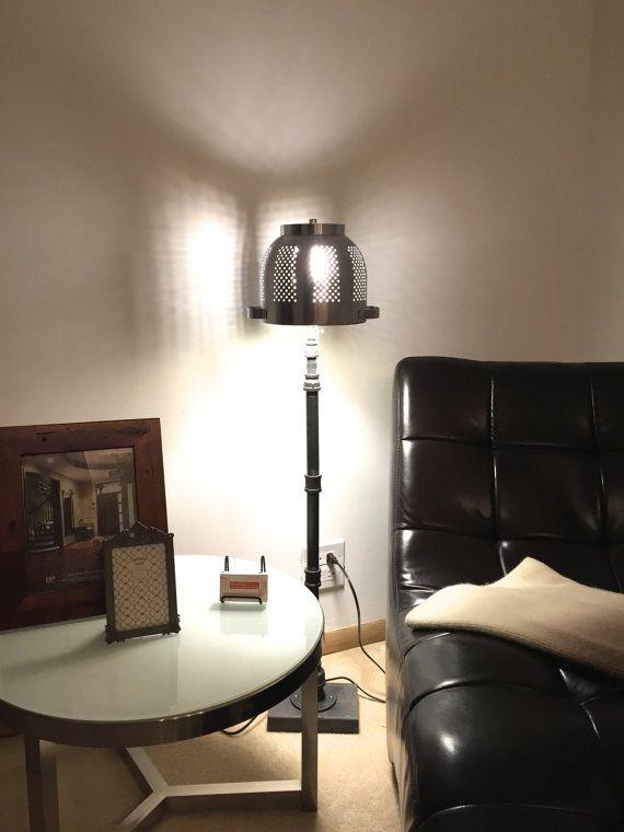 Genial Vintage Lamp Industrial Floor Lamp Desk Light By IWantThattt