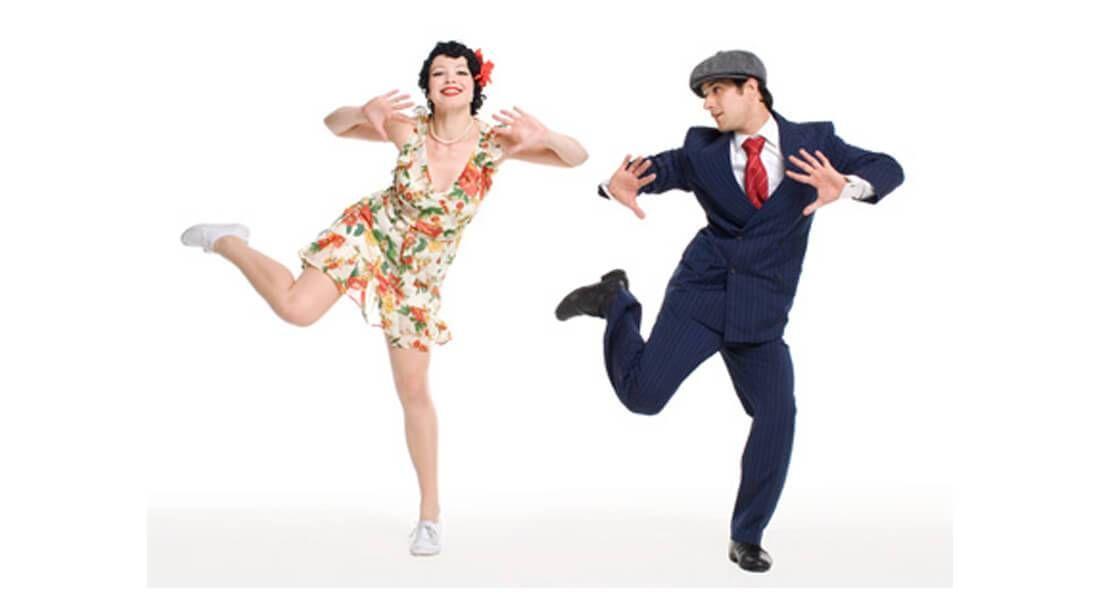 Картинка танцующих людей прикол