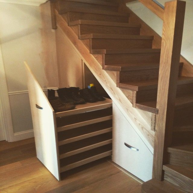 26 Incredible Under The Stairs Utilization Ideas: Stair Storage, Understairs Storage, Stairs