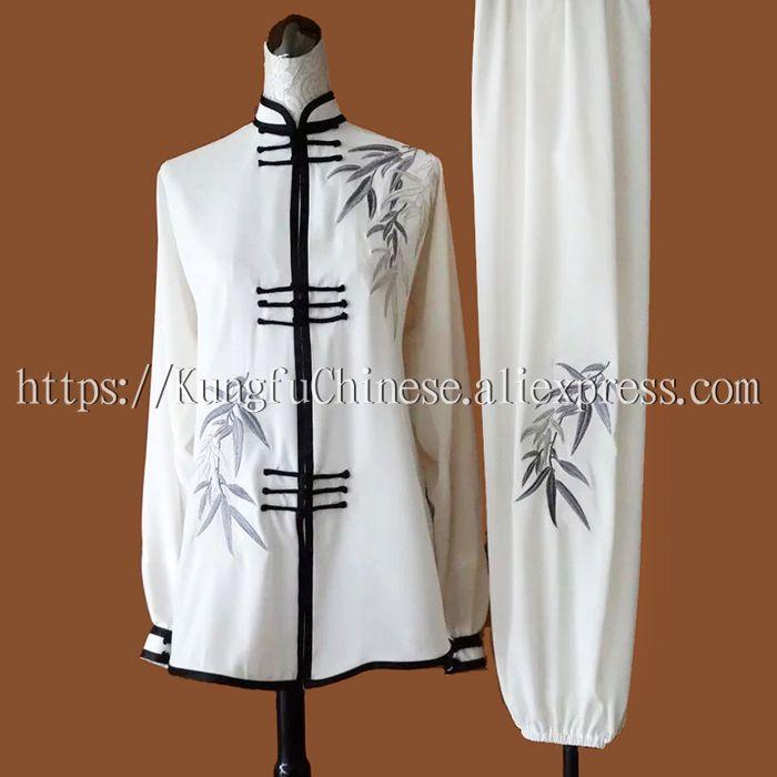 Chino espada taiji Tai chi uniforme ropa wushu traje bordado de ...