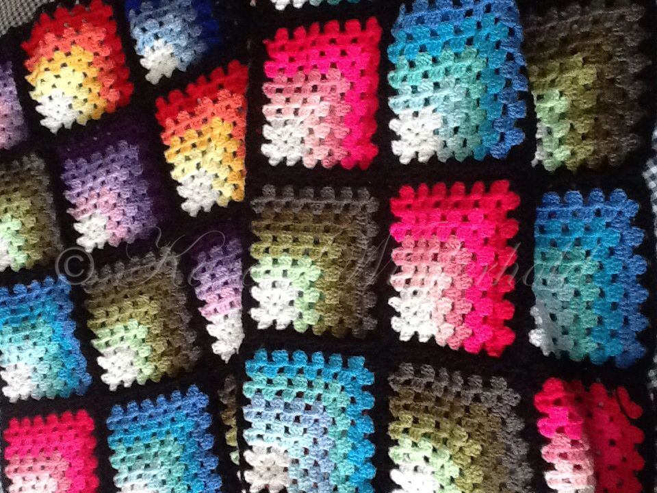 Contemporary Crochet Pattern For Granny Squares Photo - Blanket ...
