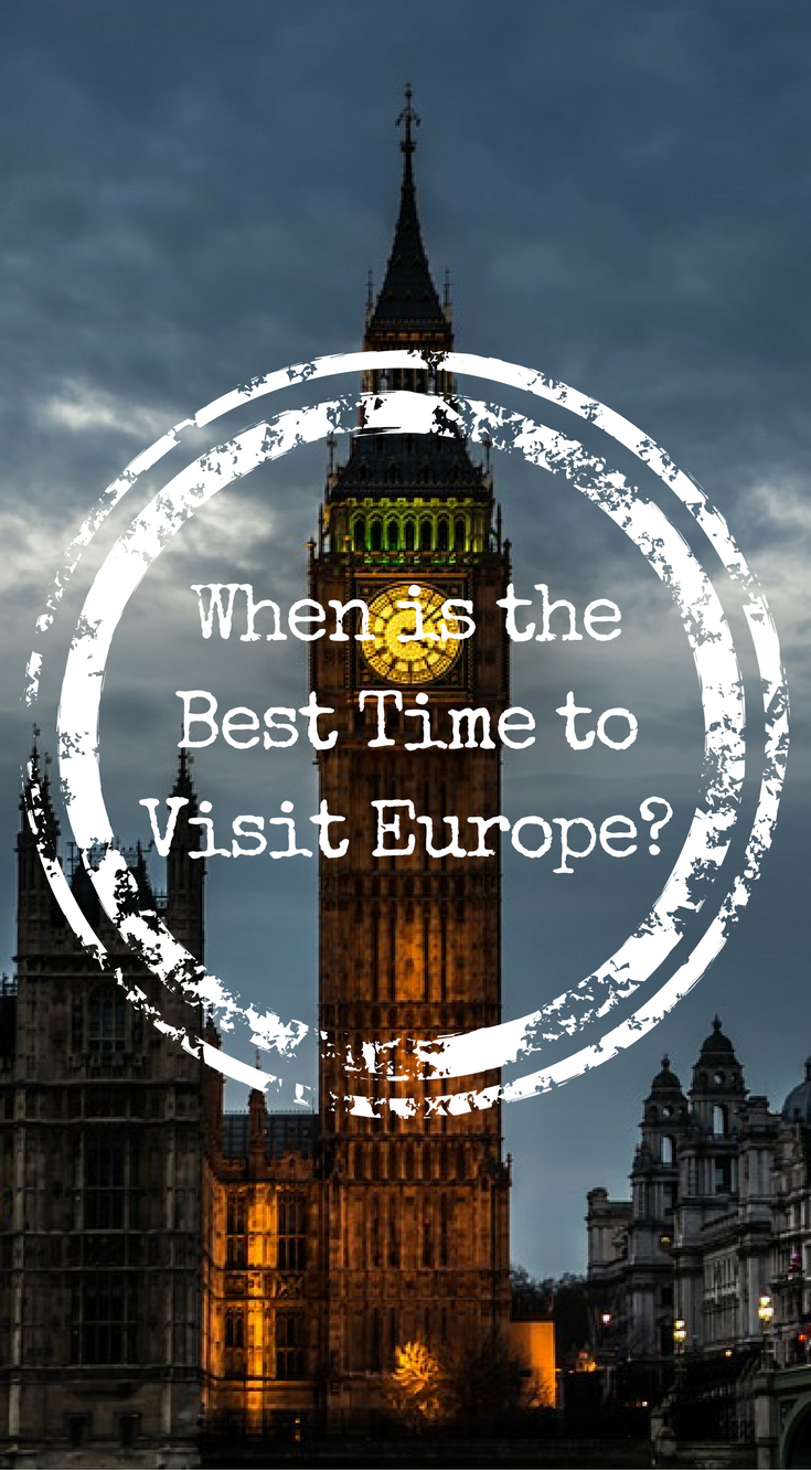when is the best time to visit europe europe travel tips rh pinterest com