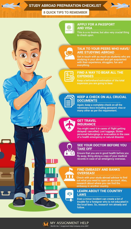 Study Abroad Preparation Checklist in 2020 Study abroad