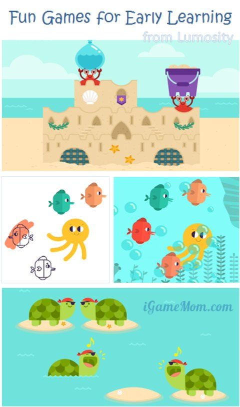 Free App for Kids Age 5 and Younger LumiKids Beach