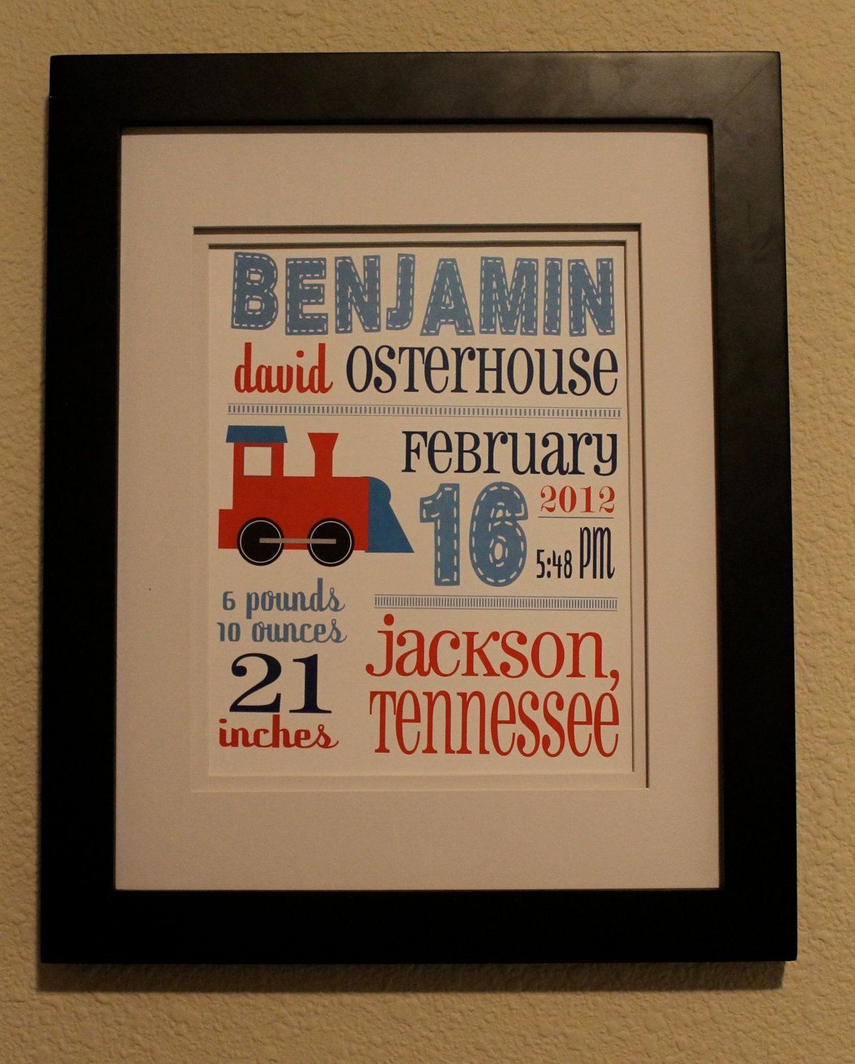 Cute for little boy's room if decorated with trains.
