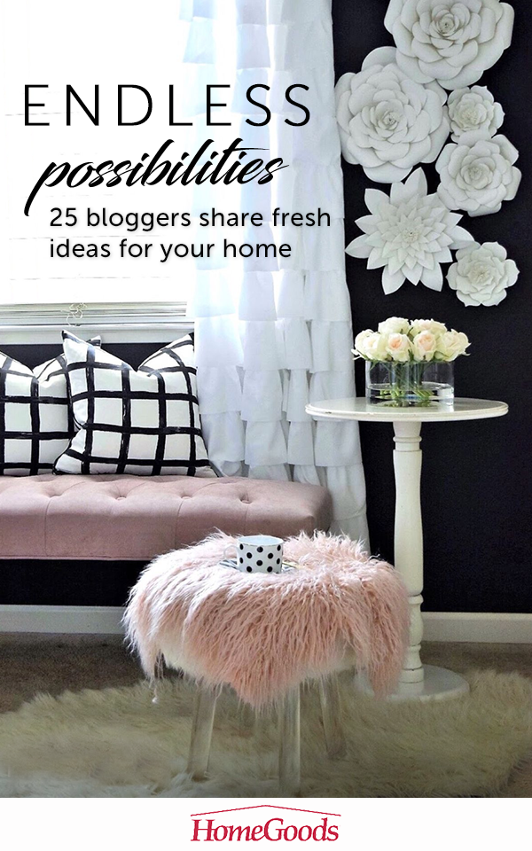 Check out our HomeGoods Enthusiast Pinterest page