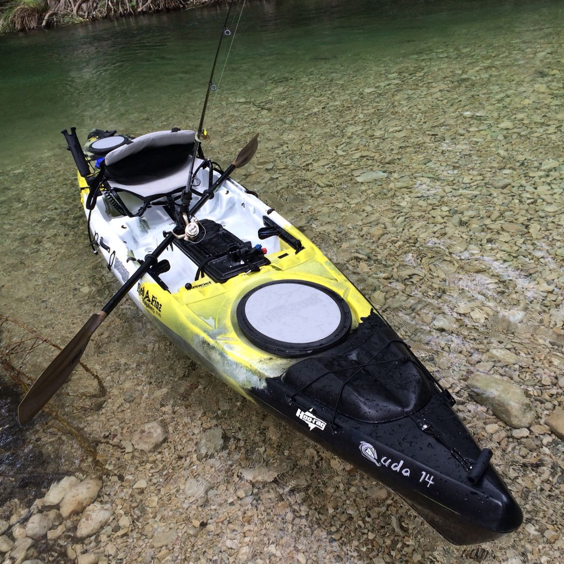 My jackson cuda 14 fishing kayak fishing kayaks pinterest for Fishing jackson kayak