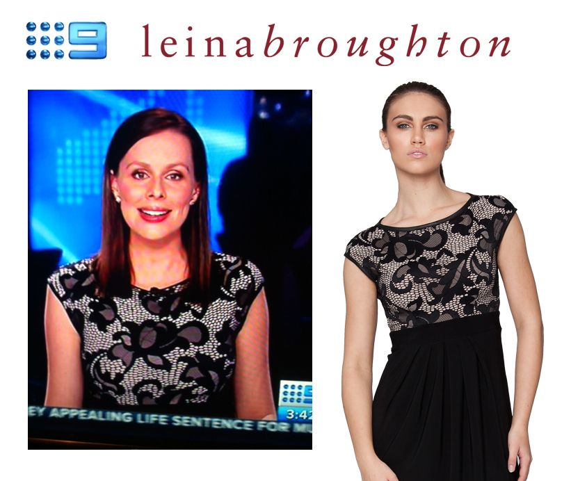 We are so very excited for the release of the new Spring Lace styles... that are already a hit with press!! Gorgeous @EvaMilic from 9 News has been wearing the Lace Empire and looks absolutely stunning!! Thanks Eva!
