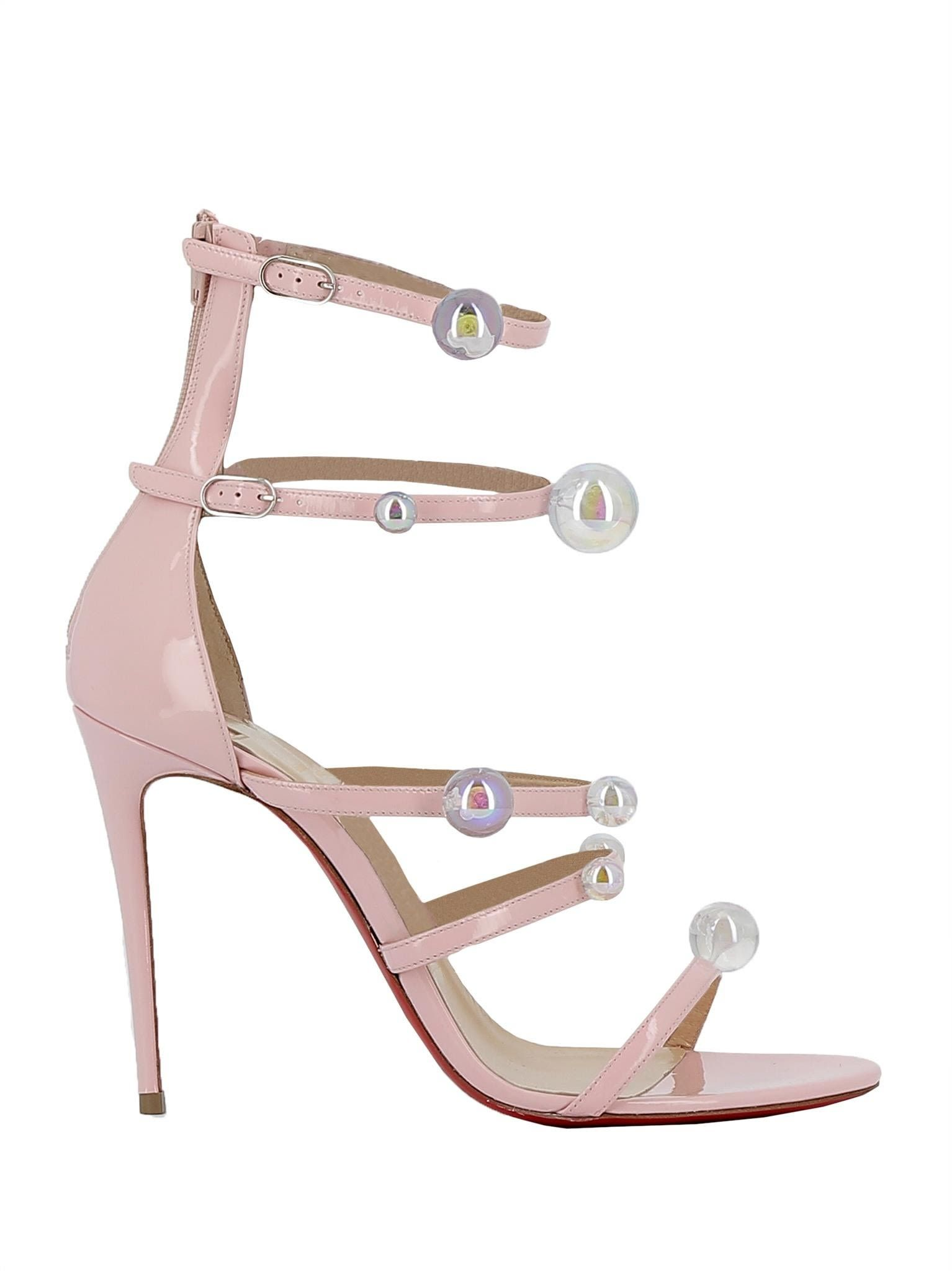 8a4587364d6f ... coupon code christian louboutin christian louboutin christian louboutin  pink patent leather sandals shoes sandals 856d1 13fb1 ...