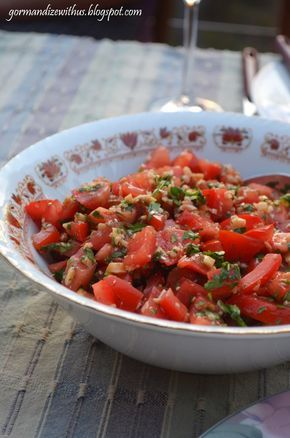 Gormandize burmese tomato salad burmese cooking pinterest growing up i was always a complete tomato fanatic and i still find it pretty hard to go past a recipe for tomato salad this burmese one forumfinder Images