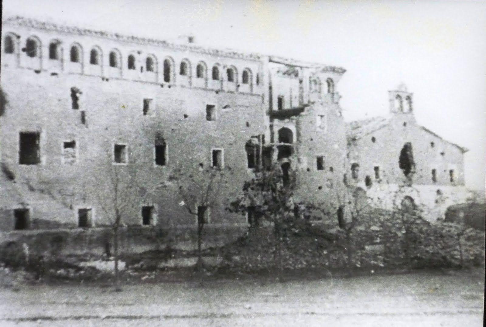 Belchite viejo seminario
