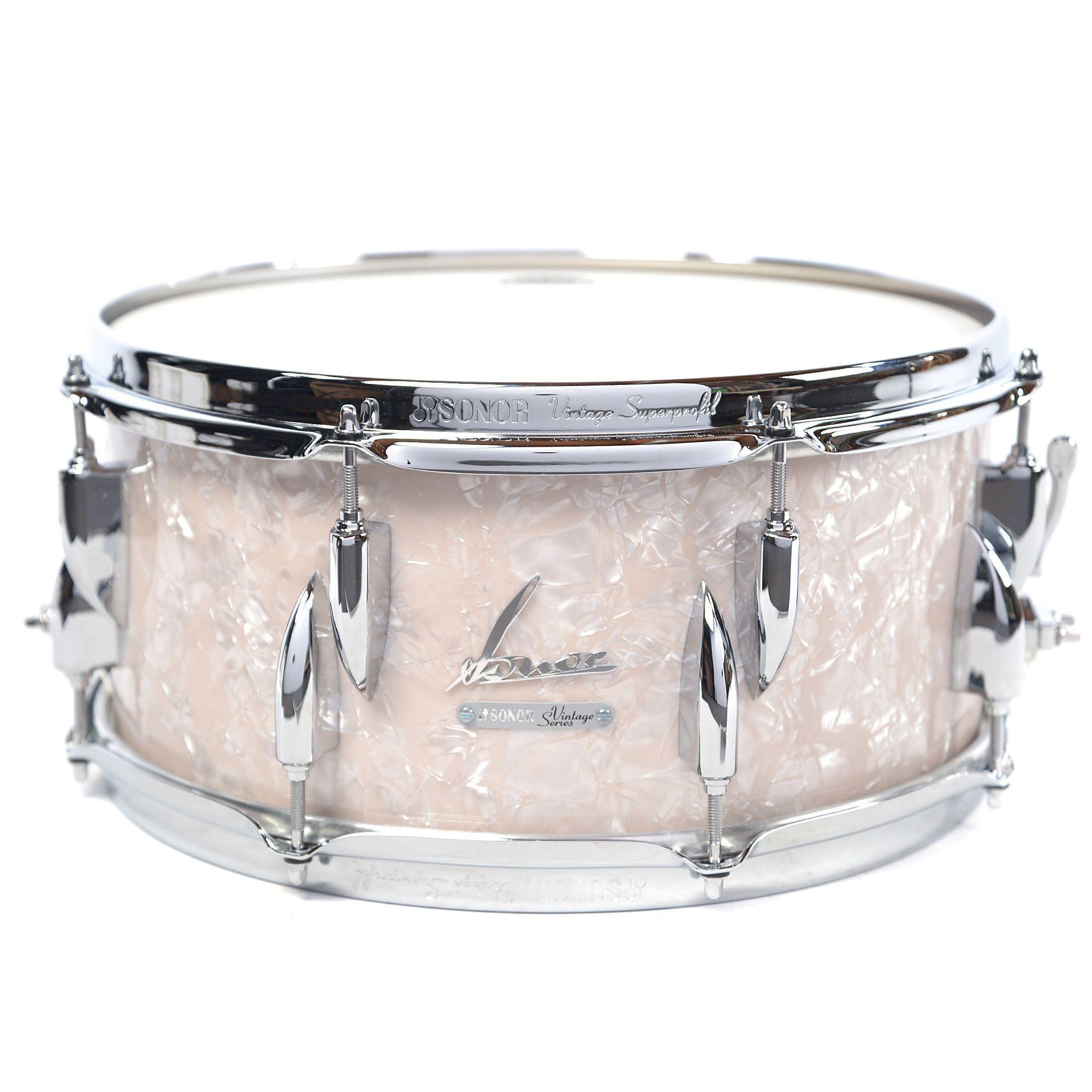 Sonor 575x14 Vintage Series Snare Drum Vintage Pearl