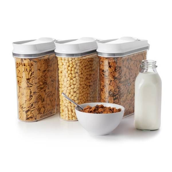 cereal tupperware containers