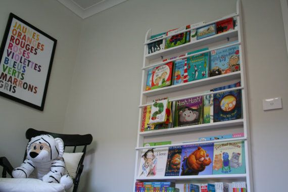 Wall Bookshelves For Kids IDI Design - Wall bookshelves for nursery