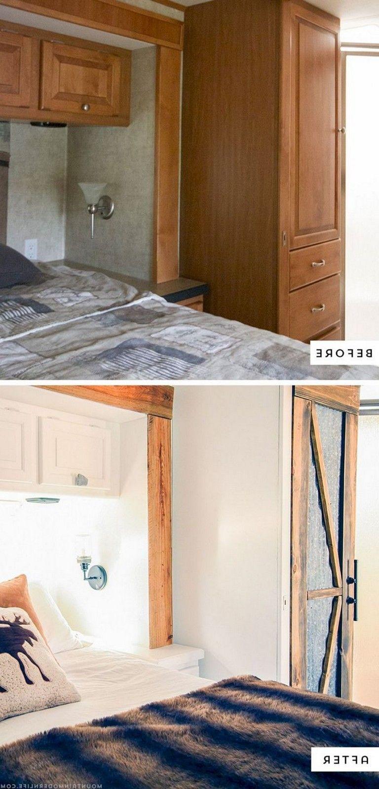 8 amazing rv camper hacks makeover remodel interior ideas rh pinterest com