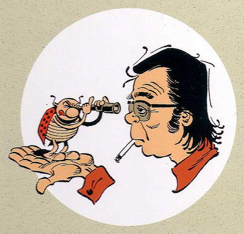 Marcel Gotlib (1934 - 2016). Autor de historieta francés y uno de los grandes maestros europeos.