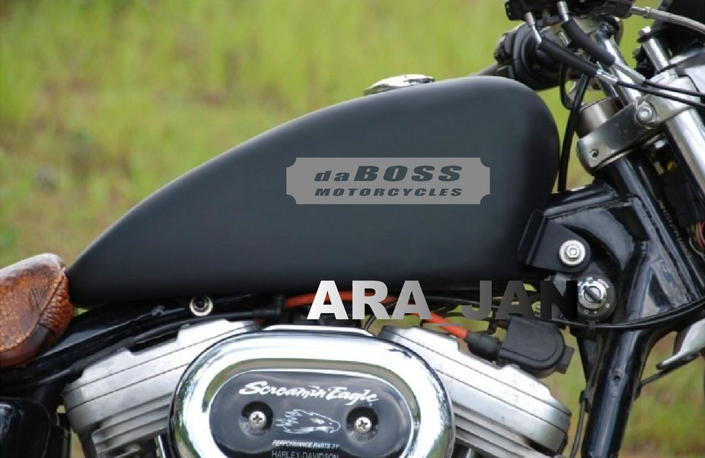 Daboss Motorcycles Decal Fuel Gas Tank Sticker Harley Davidson Bike Motorcycle S Ara Jan Harley Davidson Decals Harley Davidson Motorcycles Harley