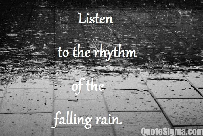 Rain Quotes, Rainy Day Quotes