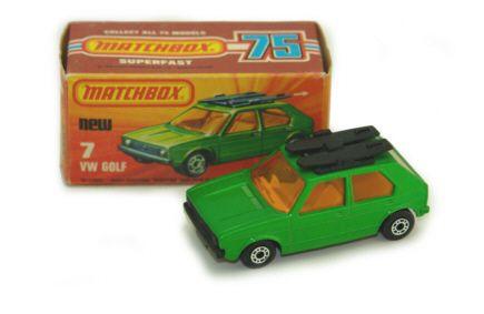 VW Golf - Matchbox 1976 - Series Nr.7