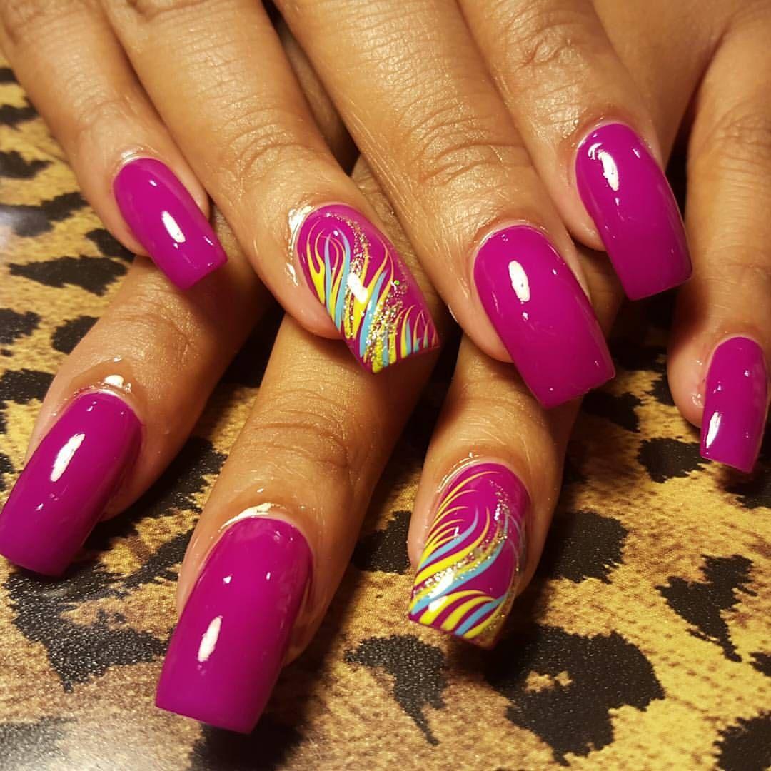 nailsoninstagram nails acrylicoverlay nailprofessional