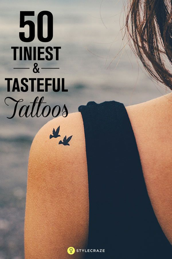 50 Of The Tiniest Most Tasteful Tattoos Ever With Images